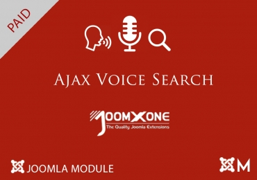 Ajax Voice Search for Joomla